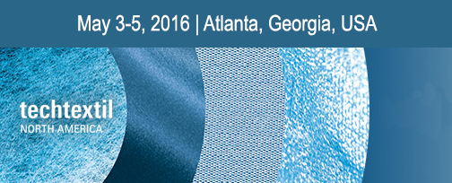 Estaremos presentes na TECHTEXTIL de 3 a 5 de Maio em Atlanta, Georgia.
