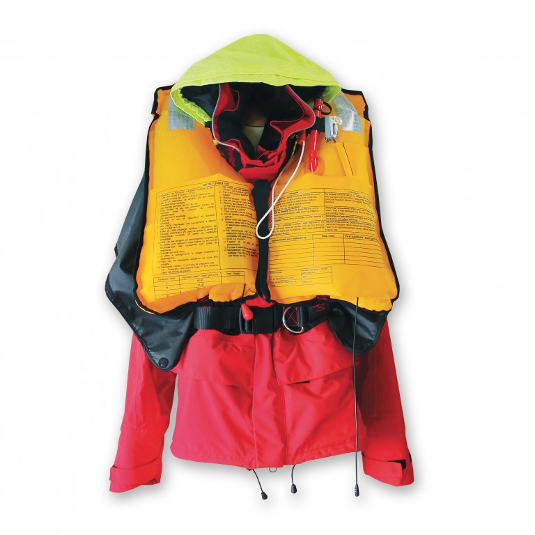 SeaB2 - Jacket with integrated inflation